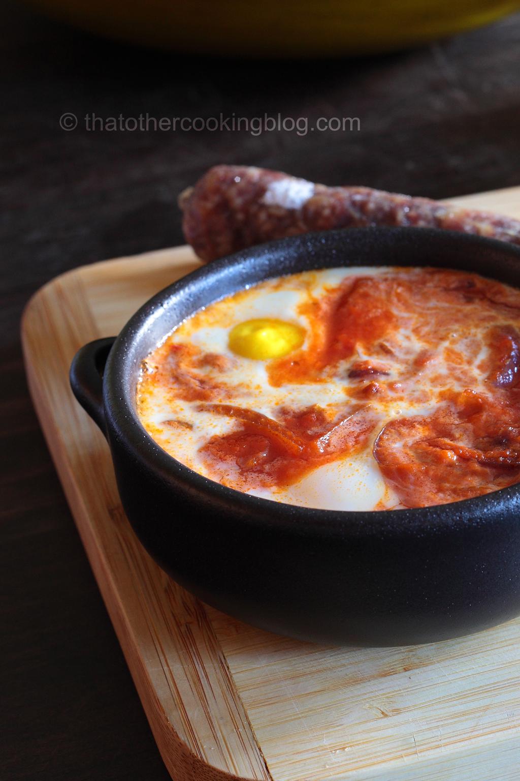 Huevos Con Tomate y Guacamole