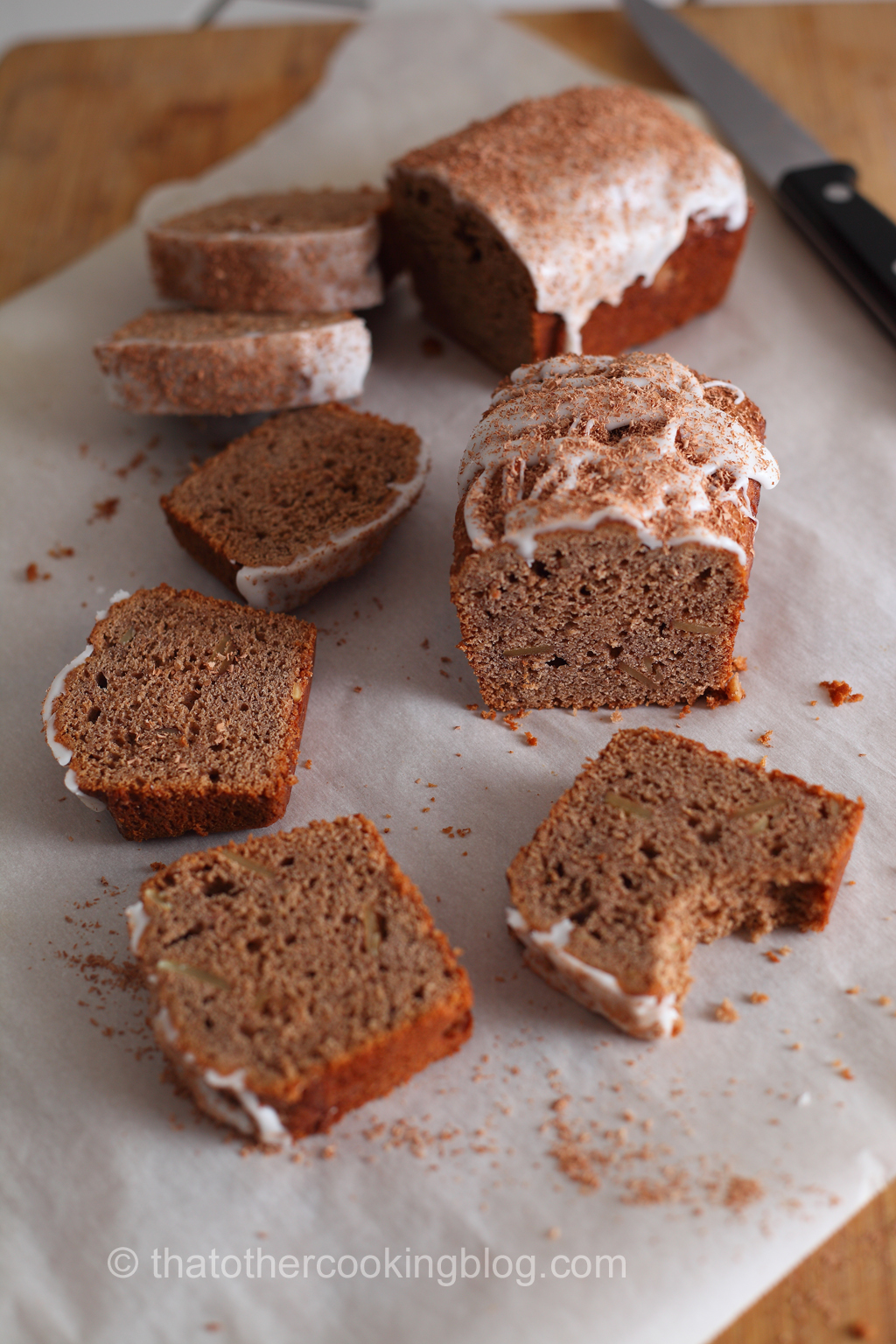 Pear Butter Coffee Cakes