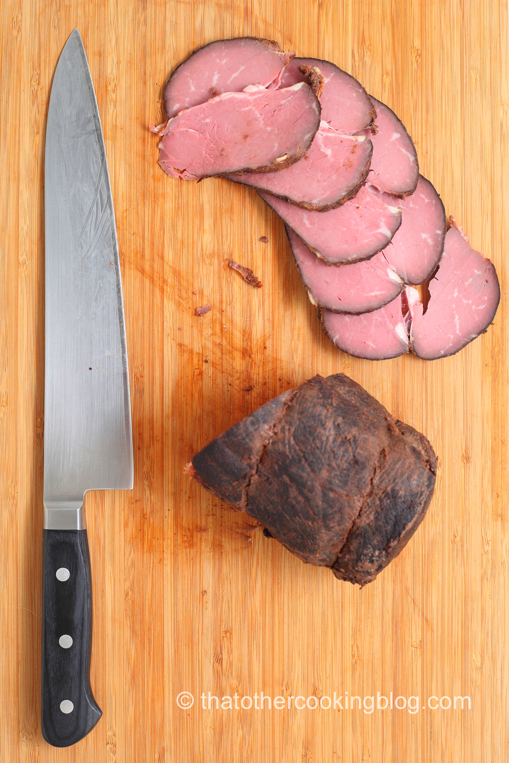 "Top Sirloin ""Roast"" Sous Vide"