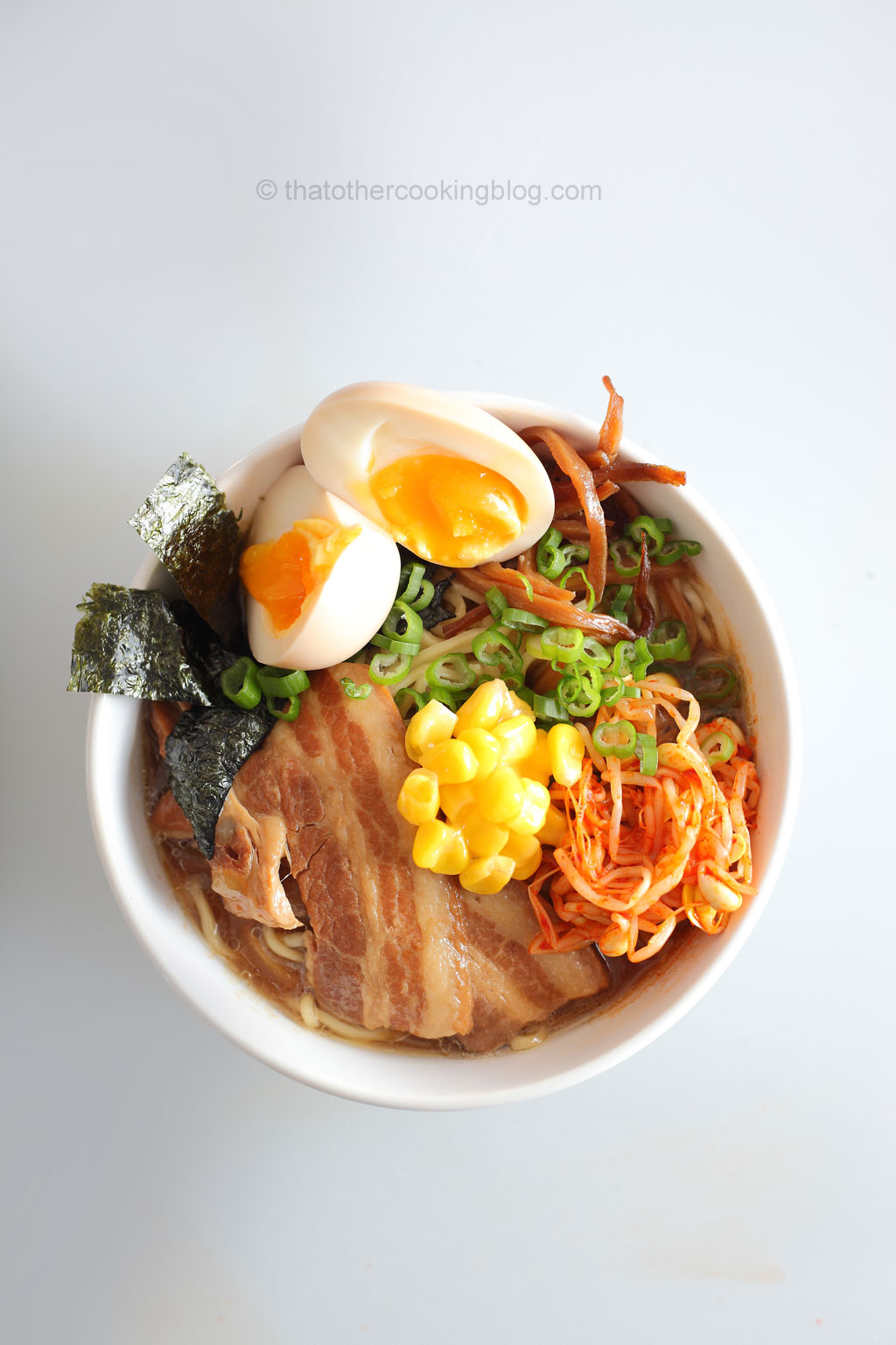 Pork Miso Ramen Noodle Soup : Pork Belly - that Other