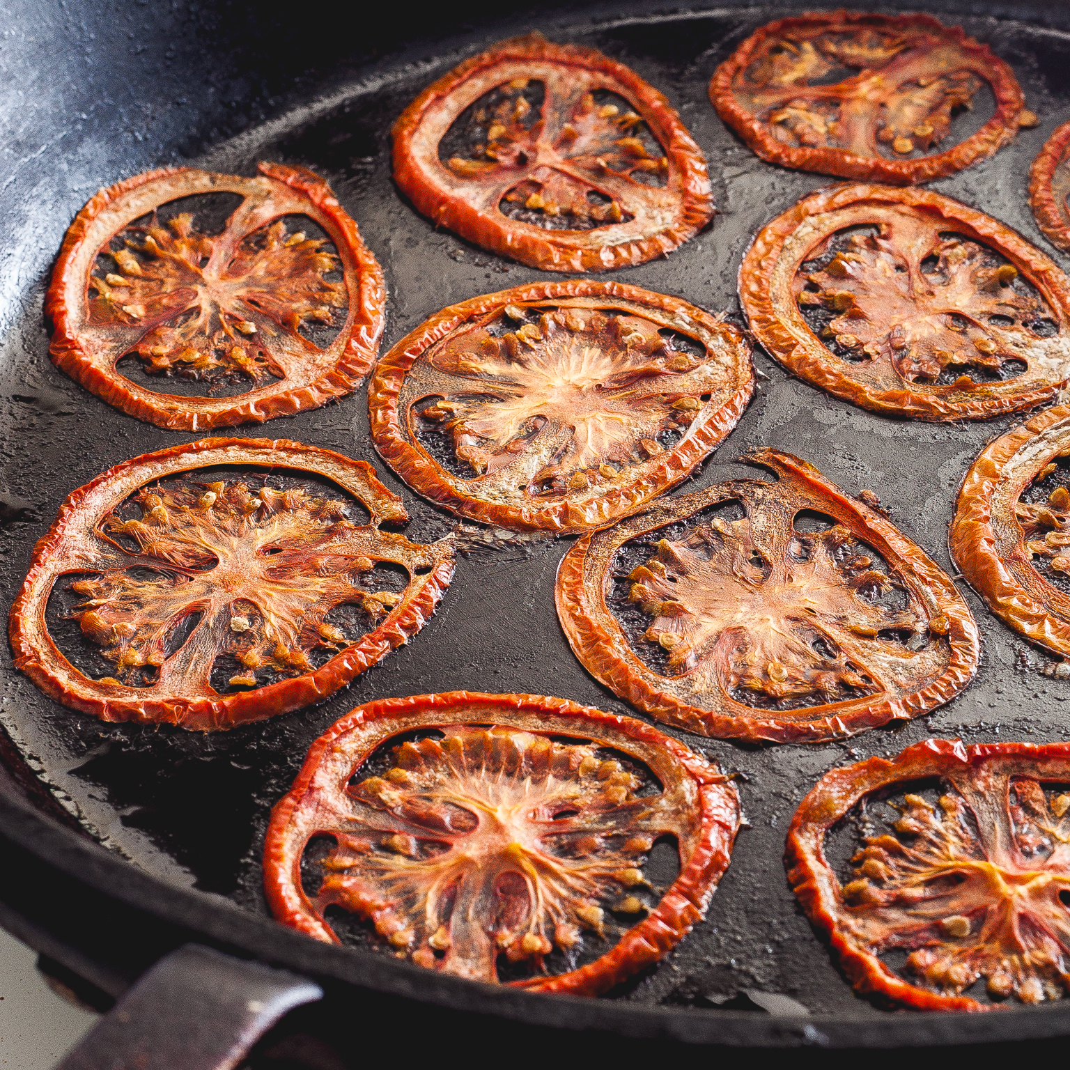 how to dry tomatoes on the stove