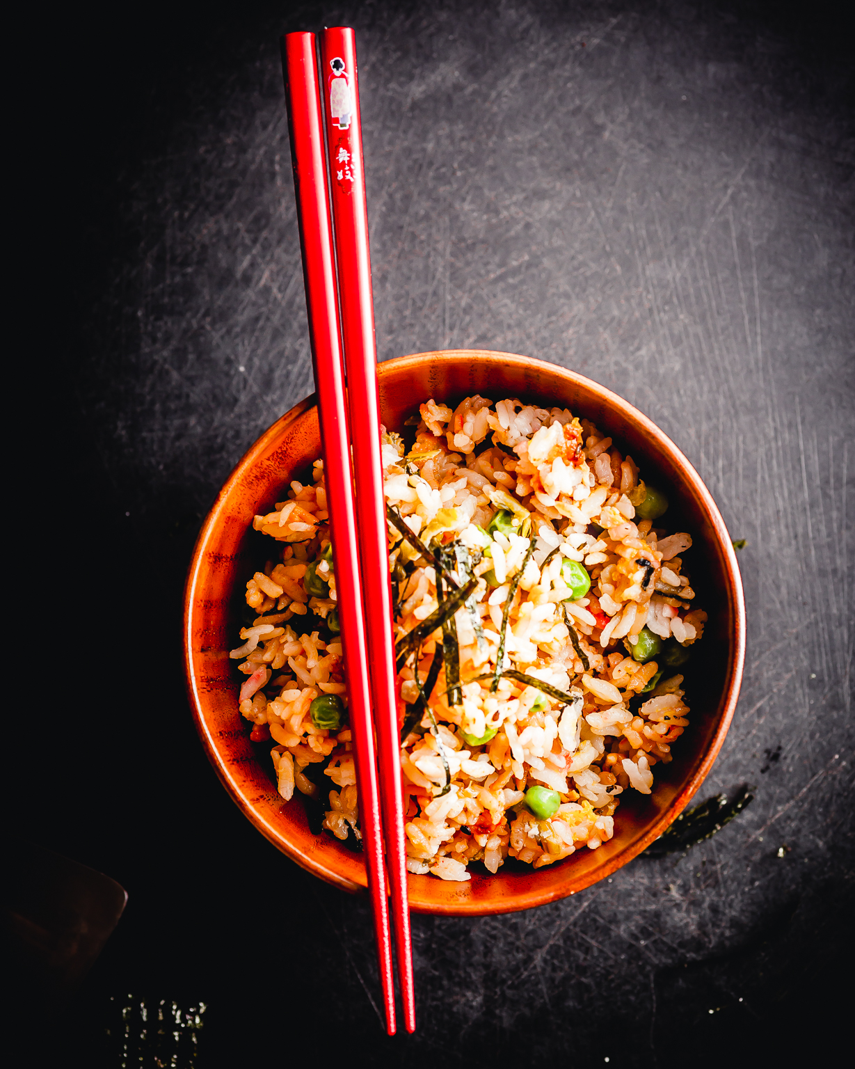 takana fried rice @ thatothercookingblog.com